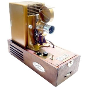 Animatic Projector As Sculpture Designed by Famous Beatles Animator Georg Dunning