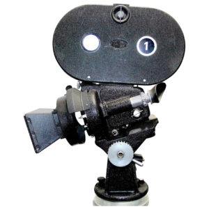 Arriflex 35MM Iconic Cinema _Hollywood_ Cinema Camera, Circa 1940. As Sculpture