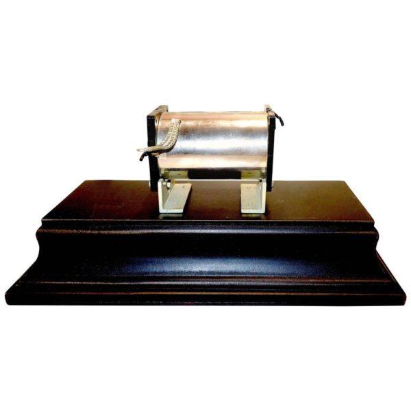 Component Art Sculpture by Bill Reiter, Primitive TV Equipment Artifact