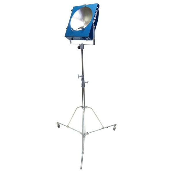 Movie Studio Mini Pan Floor Lamp with Stand, Mid-20th Working Orig. ON SALE