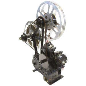 Moviola Bullseye 35mm Film Editing Viewer Designed 1919 Built in 1932, Sculpture
