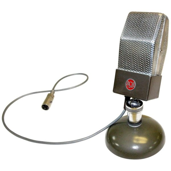 RCA Vintage Studio Microphone, Original, Iconic, circa 1930 as Display Sculpture
