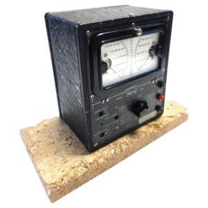 Universal Meter by Triplett, Vintage Electric Meter as Sculpture Mounted