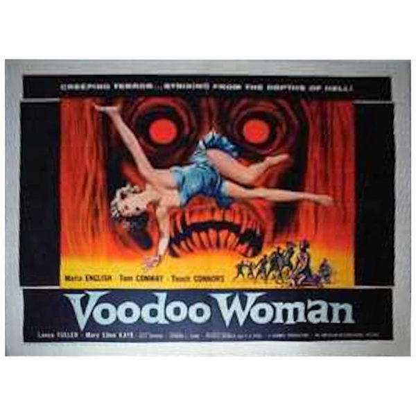 Voodoo Woman_ Original Movie Poster, circa 1957