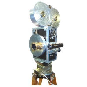 Wilart, 35mm Cinema Camera, One Off Factory Prototype, Circa 1919, As Sculpture